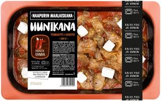 Naapurin Maalaiskana Uunikana, Tomaatti & Juusto 650 G