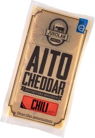Jukolan Aito Cheddar Chili 160G