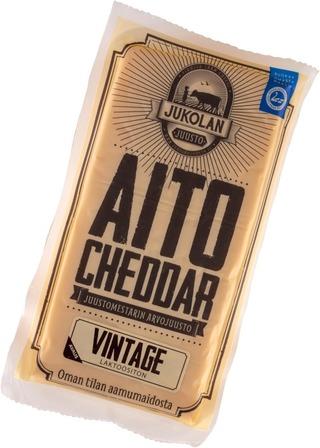 Jukolan Aito Cheddar Vintage 160 G