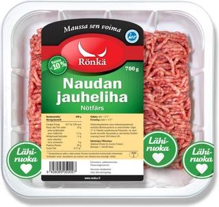 Rönkä Naudan Jauheliha 10% 700G