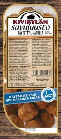 Kivikylän Täytetyt Savujuusto Lihapullat 300G