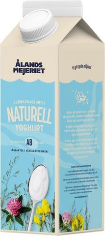 Ålandsmejeriet Luonnonjogurtti 3,9% 1Kg Acidofilus-Bifidus