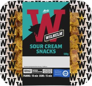 Atria Wilhelm Snacks Sour Cream 500g