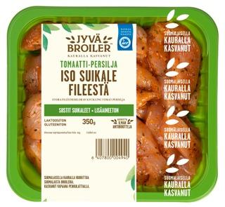 Jyväbroiler Iso Suikale Broilerin Fileestä Tomaatti-Persilja 350G