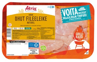 Atria Kanan Ohut Fileeleike Naturel 720g