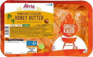 Atria Kanan Ohut Fileeleike Honey Butter 1000g