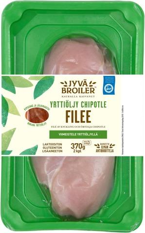 Jyväbroiler Broilerin Filee & Yrttiöljy Chipotle 370g
