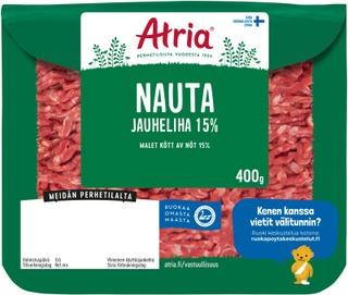 Atria Nauta Jauheliha 15% 400g