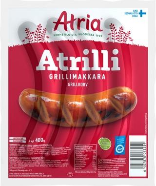 Atria Atrilli Grillimakkara 400G