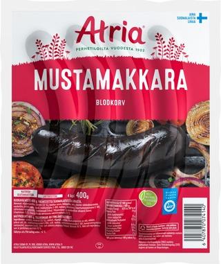 Atria Mustamakkara 400g