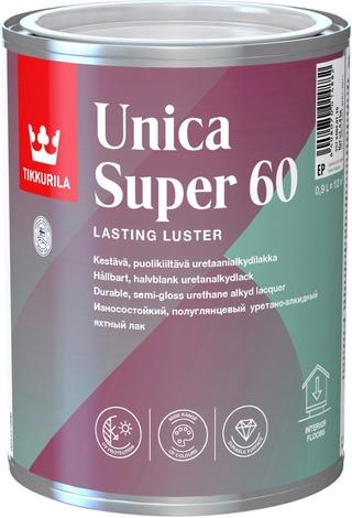 Tikkurila Unica Super 60 Uretaanialkydilakka 0,9L Sävytettävissä Puolikiiltävä