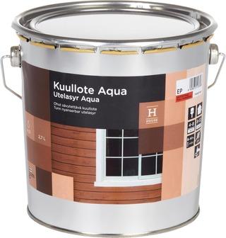House Kuullote Aqua 2,7L Väritön Sävytettävä