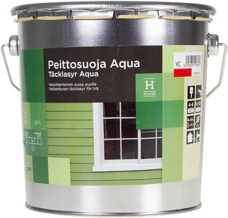 House Peittosuoja Aqua 2,7 L Vc Vain Sävytykseen Puolihimmeä