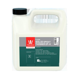 Tikkurila Solid Epoxy Thinner Ep-H 3L Ohenne