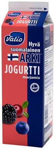 Valio Hyvä suomalainen Arki jogurtti 1 kg marjamix