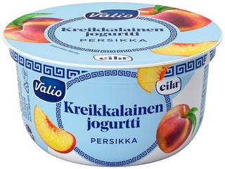 Valio kreikkalainen jogurtti 150 g persikka laktoositon