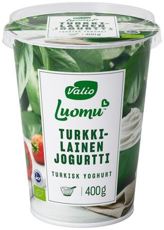 Valio Luomu turkkilainen jogurtti 400 g
