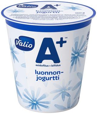 Valio A+ Luonnonjogurtti 150 G Laktoositon