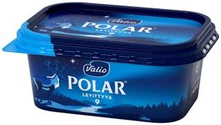 Valio Polar Levittyvä 9 % E400 G Maustamaton Sulatejuusto Laktoositon