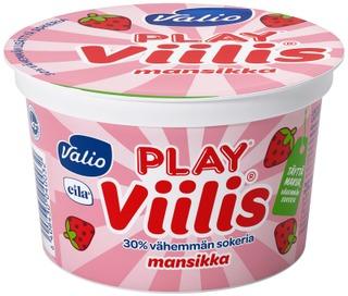 Valio Play Viilis 200 G Mansikka Laktoositon