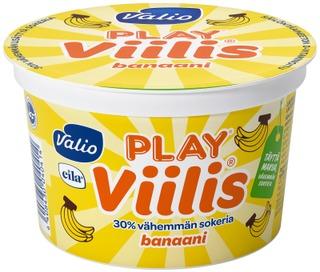 Valio Play Viilis 200 g banaani laktoositon