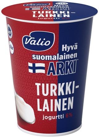 Valio Hyvä Suomalainen Arki Turkkilainen Jogurtti 6 % 400 G Laktoositon