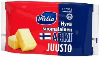 Valio Hyvä Suomalainen Arki Juusto E750 G