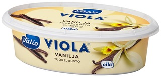 Valio Viola E200 G Vanilja Tuorejuusto Laktoositon
