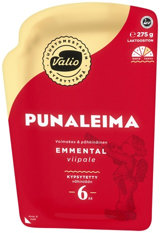 Valio Emmental Punaleima E275 G Viipale