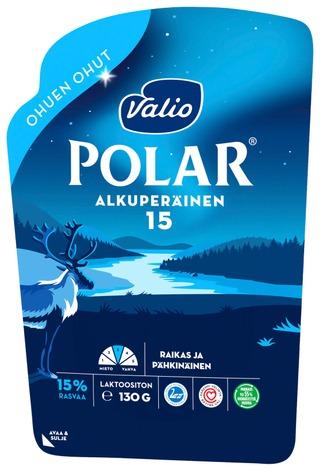 Valio Polar Alkuperäinen 15 % Ohuen Ohut E130 G Viipale