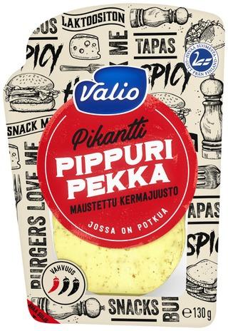 Valio Pippuri Pekka Kermajuusto E130 G Viipale