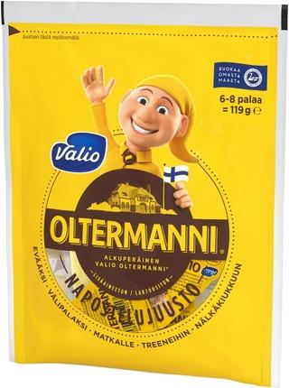 Valio Oltermanni e119 g napostelujuusto