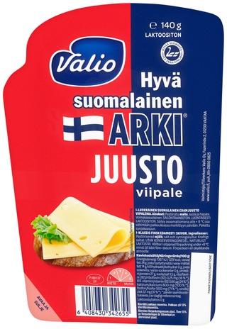 Valio Hyvä suomalainen Arki juustoviipale e140 g