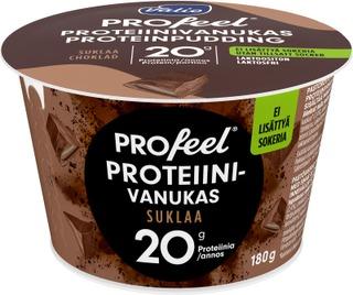 Valio PROfeel proteiinivanukas 180 g suklaa laktoositon