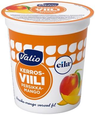 Valio kerrosviili 1 % 200 g persikka-mango laktoositon