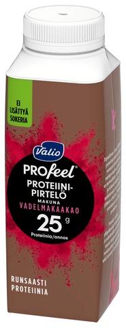 Valio Profeel Proteiinipirtelö 2,5 Dl Vadelmakaakao Laktoositon