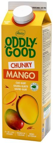 Valio Oddlygood Kaurapohjainen Gurtti 1 Kg Mango