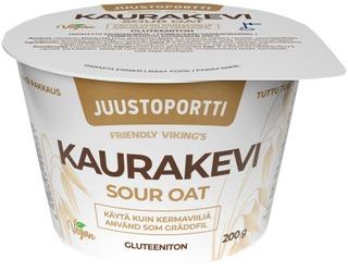 Juustoportti Friendly Viking's Sour oat KauraKevi 200 g gluteeniton