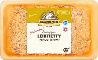 Kariniemen Kananpojan Minuuttipihvi leivitetty 600g