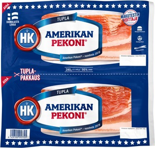 Hk Amerikan Pekoni® Tuplapakkaus 280 G