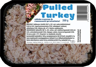Pulled Turkey 200G