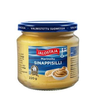Jalostaja Marinoitu Sinappisilli 220G Msc