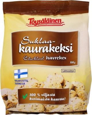 Töysäläinen Laktoositon Suklaa-Kaurakeksi 220G