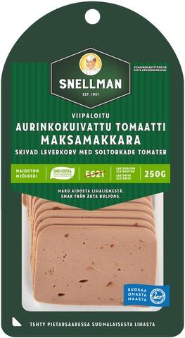 Snellman Viipaloitu Aurinkokuivattu Tomaatti Maksamakkara 250G