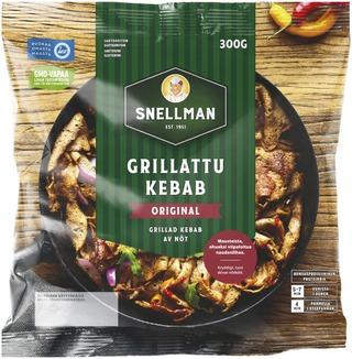 Snellman Street Food Grillattu Kebab 300G