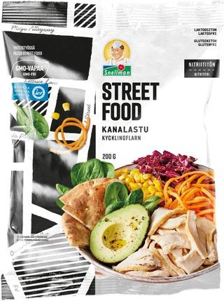 Snellman Street Food Kanalastu 200G
