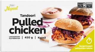 Pouttu Pulled Chicken Tandoori 450 G Kypsä