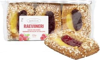 Rosten Raeviineri, Vadelma-Vaniljaviineri 3Kpl 270G