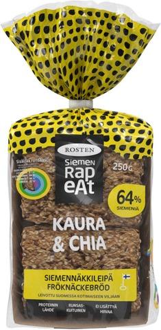 Rosten Kaura & Chia siemennäkkileipä 12kpl 250g