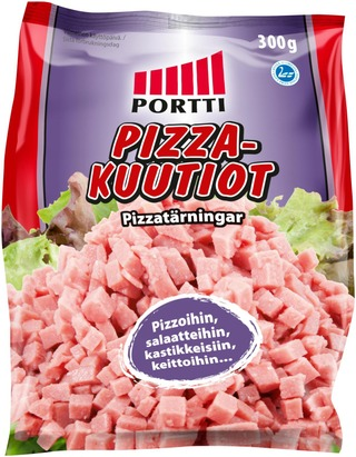 Portti Pizzakuutiot 300 G